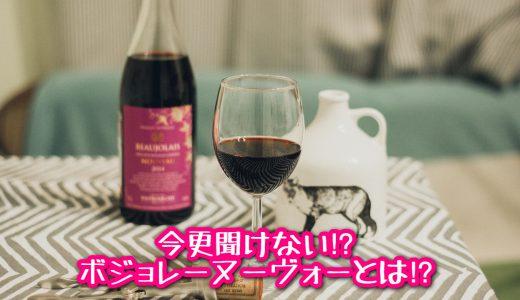 毎年の楽しみ?著名な新酒ワイン!《今更聞けない!? ボジョレーヌーヴォーとは!?》