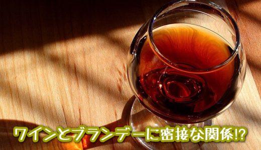 ワインから造るお酒!? 《ワインとブランデーに密接な関係!?》