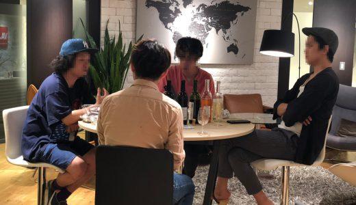 【徹底比較】バンドマンと山梨ワインを飲み比べ!!! 2019年版