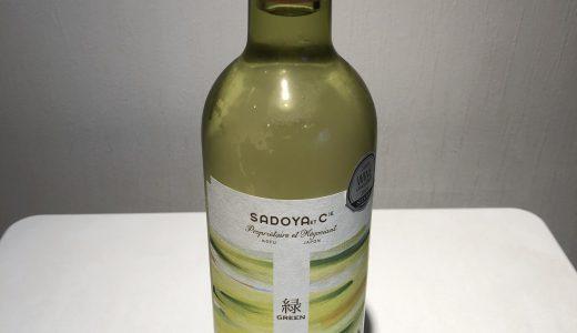【山梨ワインデータバンク】Green 緑 2017【サドヤワイナリー】山梨ワインドットノム完全オリジナル!山梨ワインのことなら山梨ワインドットノムにお任せ!