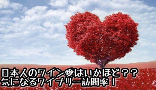 【考察】日本人のワイン愛はいかほど??気になるワイナリー訪問率!
