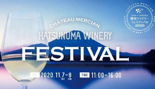 【ワイン好き必見!!】1年に1度のビッグイベント【勝沼ワイナリーフェスティバル2020】が開催決定!!【11月7日&11月8日】